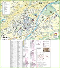 Cassis tourist map Maps Pinterest Tourist map France and City