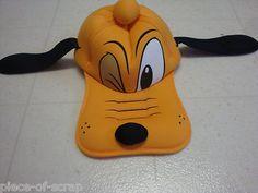 $16 obo PLUTO Disney Cap Baseball Hat Adult Mens Womens Halloween Costume Idea Dog #Disney #Pluto