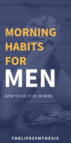 How to Create a Morning Routine for Men What's the best morning routine for men? Nobody needs to tell you that coffee and breakfast aren't enough. Learn how to create a healthy everyday morning routine that harnesses your manly power. Morning Workout Routine, Healthy Morning Routine, Morning Habits, Bedtime Routine, Morning Routines, Daily Routines, Healthy Routine Daily, Routine Chart, Positiv Quotes