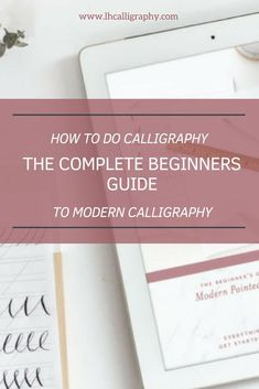 We are happy to introduce you to our BRAND NEW Beginner's Guide to Pointed-pen Calligraphy Calligraphy Pens For Beginners, Modern Calligraphy Tutorial, How To Do Calligraphy, Brush Pen Calligraphy, Calligraphy Nibs, Calligraphy Supplies, Lettering Tutorial, Hand Lettering, Calligraphy Handwriting