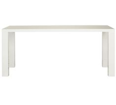 White dining table 149 fantastic furniture 110x70 4 for Fantastic furniture dining table 8 seater