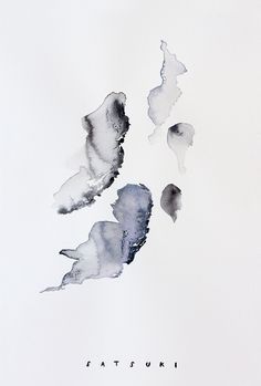 Satsuki Shibuya, artist & spiritual thinker | abstract watercolor painting