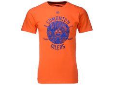 Edmonton Oilers Majestic NHL Men's Hash Marks T-Shirt