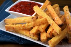 Whip up delicious Polenta Fries for an afternoon snack.