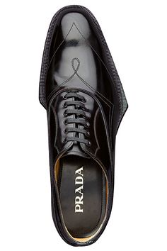 you just cannot have too many Prada shoes Formal Shoes, Casual Shoes, Leather Men, Leather Shoes, Reebok, Prada Men, Unique Shoes, Prada Shoes, Men S Shoes