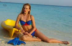 Anne Vyalitsyna Hits the Beach for Elle Russia June 2013 Cover Story by Asa Tallgard | Fashion Gone Rogue: The Latest in Editorials and Campaigns