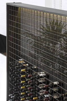 Image 34 of 51 from gallery of Theatro / MiMool Arquitectura & Design de Interiores. Photograph by ITS – Ivo Tavares Studio decoration Gallery of Theatro / MiMool Arquitectura & Design de Interiores - 34 Wine Cellar Basement, Wine Cellar Racks, Wine Rack Wall, Wine Wall, Home Wine Cellars, Wine Cellar Design, Wine House, Wine Display, Wine Cabinets