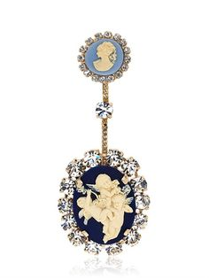 HALABY - LVR LIMITED EDITION CAMEO PIN - LUISAVIAROMA - LUXURY SHOPPING WORLDWIDE SHIPPING - FLORENCE