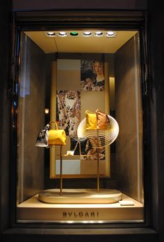 Escaparate Show window,vitrine Bulgari 2012