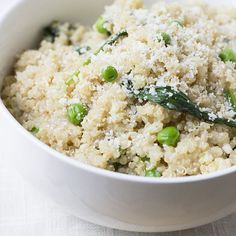 Recipe: Quinoa Spinach Parmesan Risotto | Skinny Mom | Where Moms Get the Skinny on Healthy Living