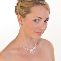 Share for 10% discount! Swarovski Crystal Tear Drop Necklace