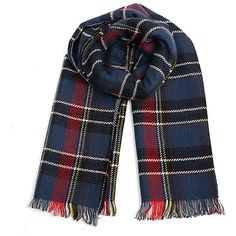 Yoins Navy Wrap Scarf in Check Pattern (935 RUB) ❤ liked on Polyvore featuring accessories, scarves, accessories - scarves, yoins, navy, plaid shawl, navy shawl, tartan scarves, oversized shawl and navy blue scarves