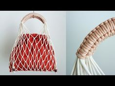 Did you know it's super easy to make your own gorgeous Macrame bag? It only takes a few basic knots to get started. Enjoy 15 easy DIY Macrame bags for beginners! Macrame Bag, Macrame Knots, Micro Macrame, Diy Net Bags, Chevron Friendship Bracelets, Ethno Style, Macrame Design, Macrame Tutorial, Macrame Projects