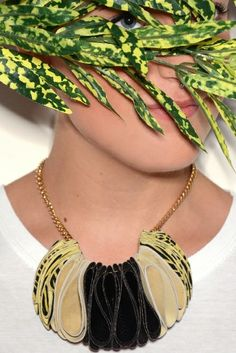 Anemone leather necklace - www.scicche.it
