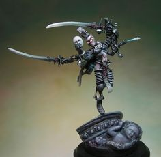 The Internet's largest gallery of painted miniatures, with a large repository of how-to articles on miniature painting Warhammer Figures, Warhammer Paint, Warhammer Models, Warhammer 40k Miniatures, Warhammer Fantasy, Eldar 40k, Dark Eldar, Warhammer 40000, Fantasy Battle