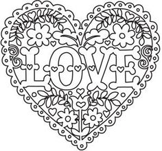 can use this as SVG FILE FRAME WITH VINLY MMM SO MANY IDEAS  Love and Flowers Heart_image