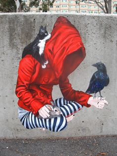 By UrbanCakeLady by phoenix the street artist, via Flickr