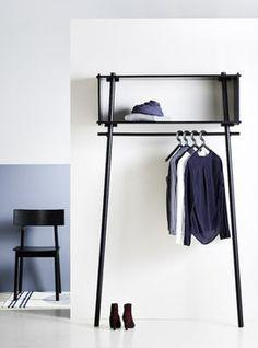 WOUD Töjbox Garderobe #Eingang #Ankleidezimmer #Garderobe #Wohnen #Galaxus