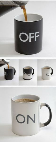 #Coffee Mug #Off #On