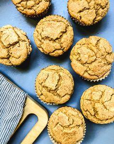 Buttermilk Pumpkin Buckwheat Muffins (kiddo friendly) - Dishing Up the Dirt Sugar Pumpkin, Baked Pumpkin, Pumpkin Recipes, Pumpkin Squash, Pumpkin Puree, Make Ahead Breakfast, Breakfast Recipes, Buckwheat Muffins, Healthy Muffin Recipes