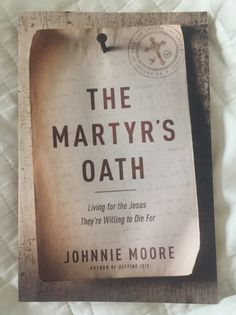 The Martyr's Oath #bookreview
