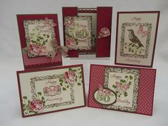 Stamping Moments. Gorgeous set of cards!!