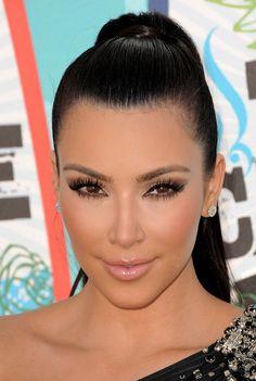 Kim Kardashian Lipgloss - Kim Kardashian Makeup - StyleBistro