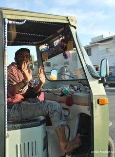 Rickshaw Driver - Karachi, Pakistan