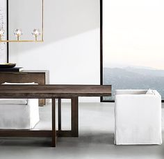 Wythe Live-Edge Rectangular Dining Table