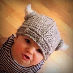Lael Viking Hat crochet pattern