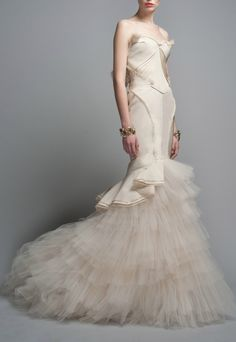 Can't believe Zac Posen is making a collection for David's Bridal. This dress is unfreakinbelievable!!!!!!