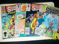 Squadron Supreme comics (set of 4)