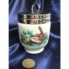 Vintage Royal Worcester Porcelain Lidded / Trinket Pot