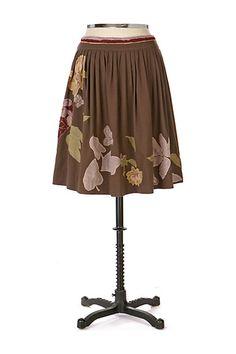 Leaf Season Skirt #anthropologie size 6
