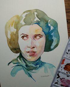 Les Illustrateurs du Monde entier rendent hommage à Carrie Fisher - Chambre237