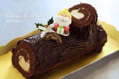 もうすぐクリスマス♪ 皆さんはどんなケーキを作りますか? 今回ご紹介するのは「ブッシュドノエル」 難しそうだけど、デコレーションケーキよりはお手軽に...