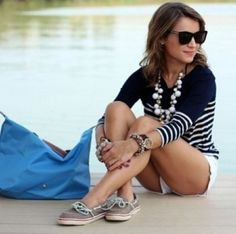 Summer Preppy McPrepster... look preppy pretty this summer.
