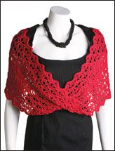Lace-With-a-Twist Wrap