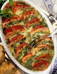 Meat Recipes, Chicken Recipes, Jacque Pepin, Healthy Recepies, Hungarian Recipes, Desert Recipes, Meatloaf, Food And Drink, Veggies