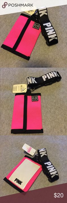 VS PINK Lanyard Brand new VS Lanyard. So cute but I used my black one so don't need this anymore. PINK Victoria's Secret Accessories