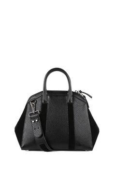 Mackage - ADEN SMALL BLACK SHOPPER BAG