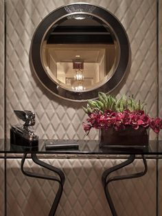 Bentley suite at St Regis Hotel, New York. Always exciting to see something you worked on get pinned!