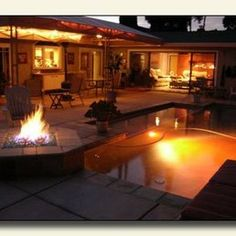 Seascape Pools Inc - San Diego, CA, United States. Cool fall nights by the pool!