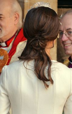 Pippa Middleton's pretty hairstyle