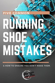 Running shoe mistakes are unfortunately common, and can lead to discomfort or even injury. Are you in the correct pair of running shoes for your feet? Know these five common running shoe mistakes - and how to avoid making them. Keep Running, Running Gear, Running Workouts, Cardio Workouts, Running Shoe Reviews, Best Running Shoes, Running Sneakers, Running Quotes, Running Motivation