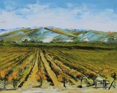 Colors of Napa Valley ll by Lisa Elley