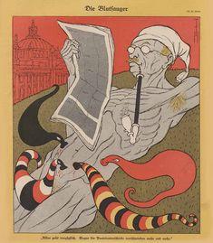 Thomas Theodor Heine - The Bloodsuckers, 1928