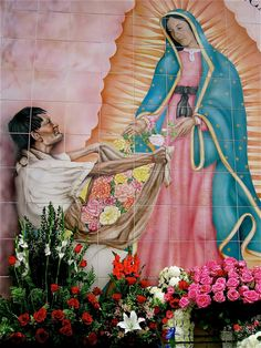 Virgin de Guadalupe Shrine at Olvera Street in Los Angeles- A 5x7 Fine Art Photograph