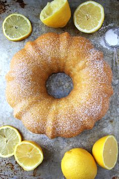 Lemon Bundt Cake {A Pretty Life}