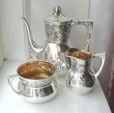 Thune 830 Silver Coffee Service